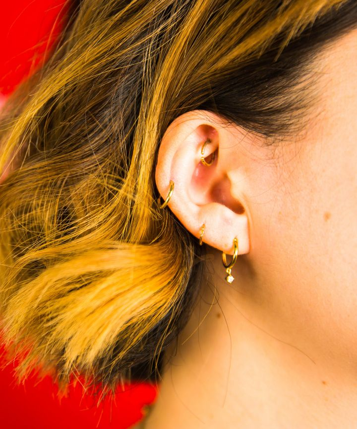 Brian Keith Thompson, Refinery29, piercing