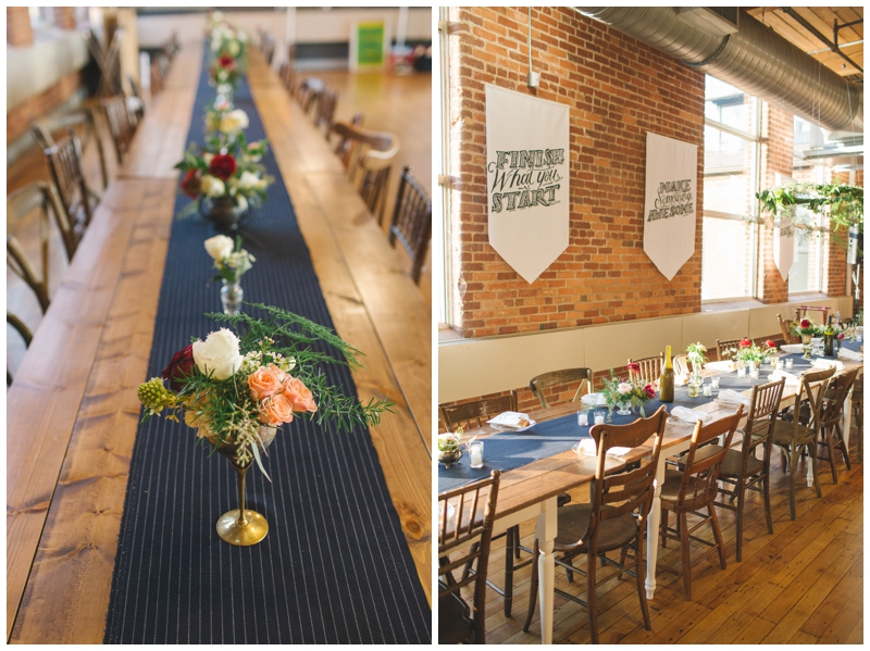 Vintage Event Rentals at the Certus Loft in Greenville, SC