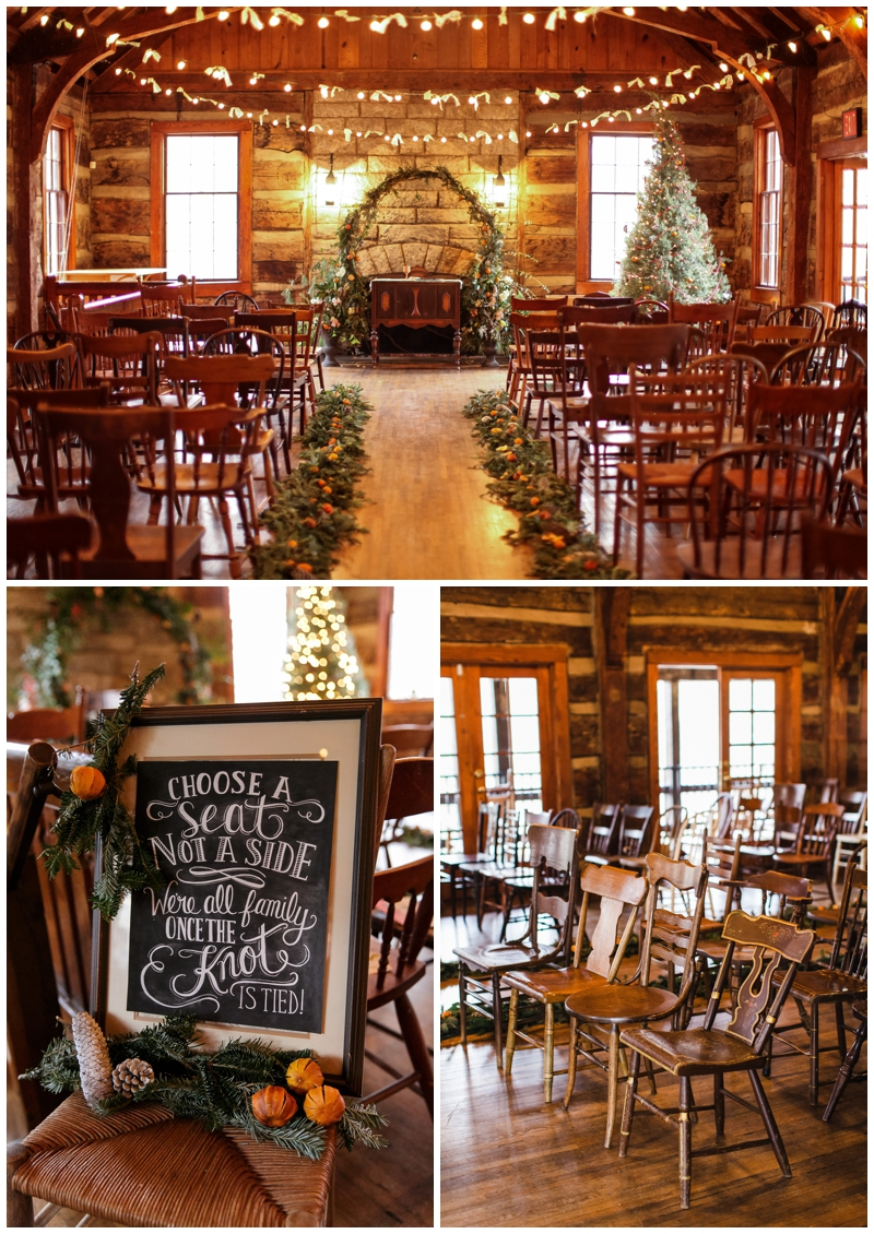 vintage event rentals at the Lodge at Table Rock State Park