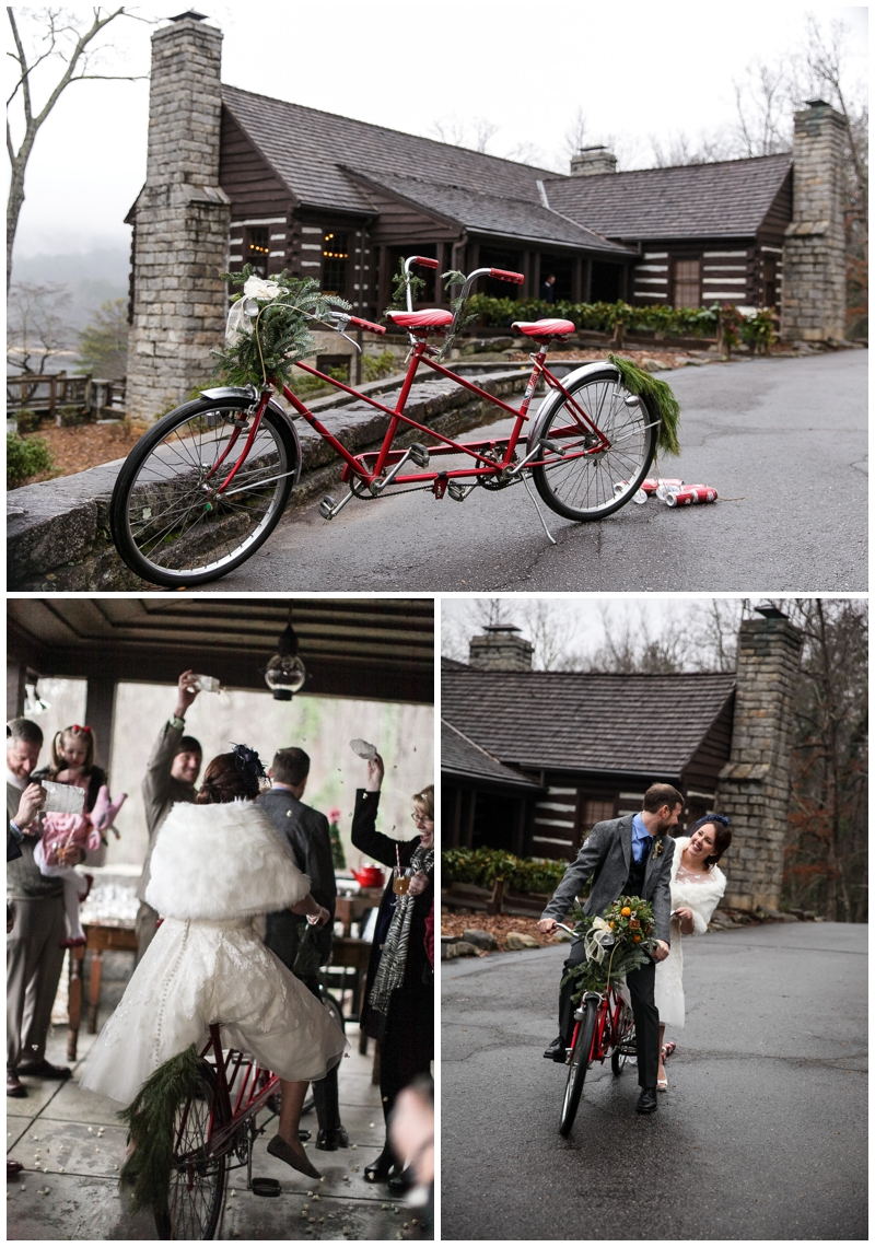 Vintage event rentals at the Lodge at Table Rock State Park in Greenville, SC
