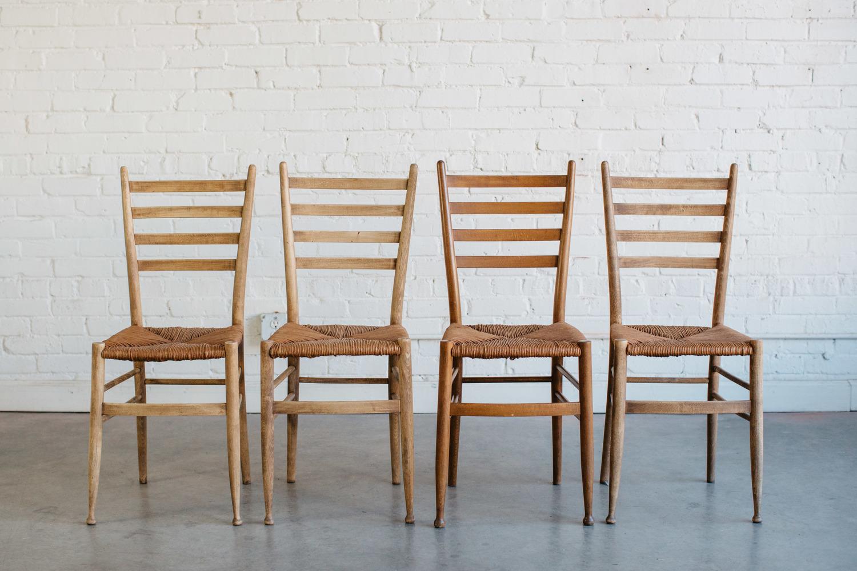 slat back chairs. Slat Back Rush Seat Chairs D
