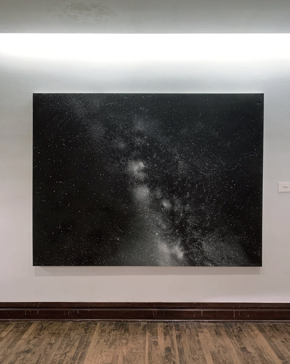 Night Sky No. 1, on view at the McKinney Performing Arts Center through April 27