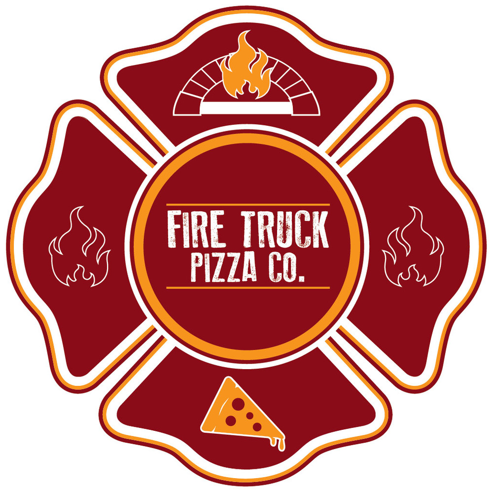 Fire Truck Pizza Food Truck Menu
