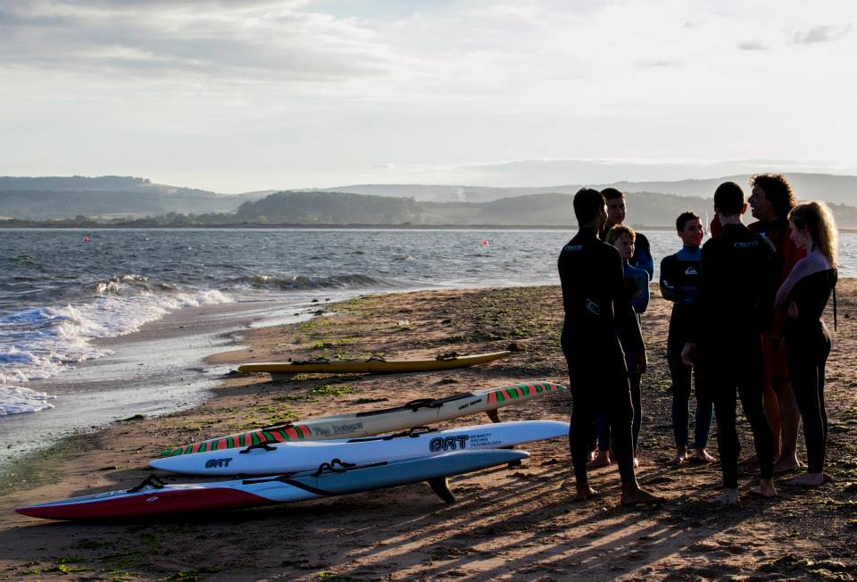 Surf Life Saving Training Exmouth Devon
