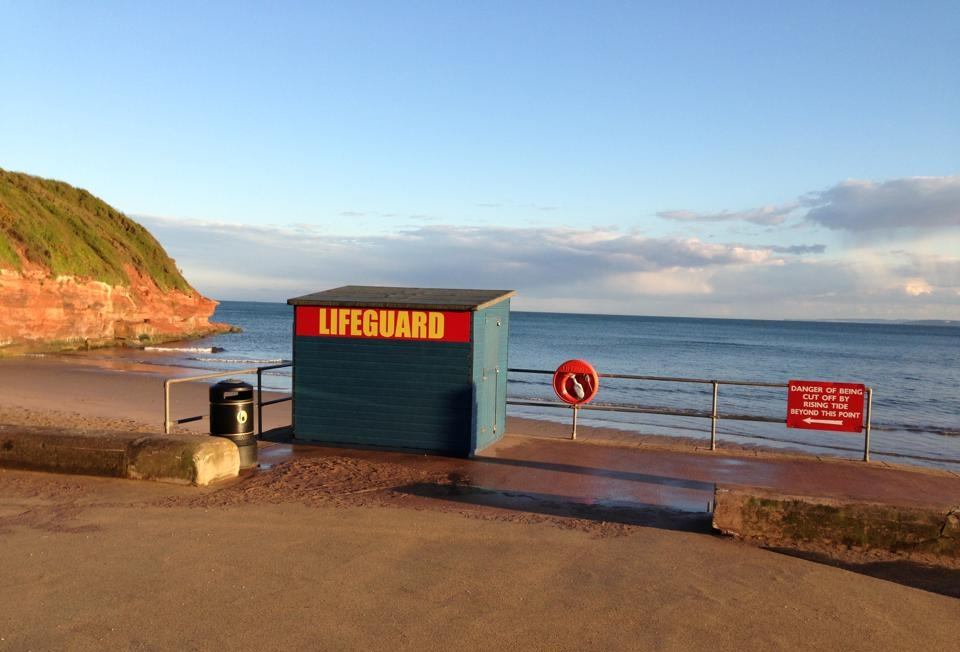 Exmouth Orcombe Lifeguard Hut