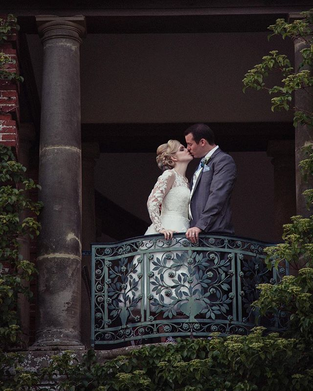 Sneak peek of Saturdays stunning bride and groom, @jam_sam_miller & @rustyhughes 💕 looking like they've just stepped out of a fairytale! #millerhugheswedding #sneakpeek #bridalportrait #couplesportrait #fairytalewedding #portlympnewedding #weddingportrait