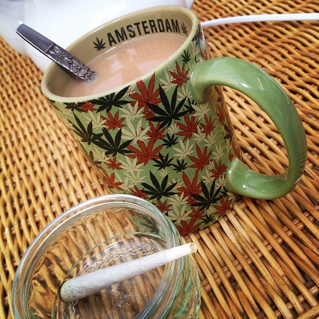Happy #420 from TeaUnit! Let's all celebrate with a nice cup of tea and a zoot!! And then go demolish them Easter eggs when you get the munchies!!!