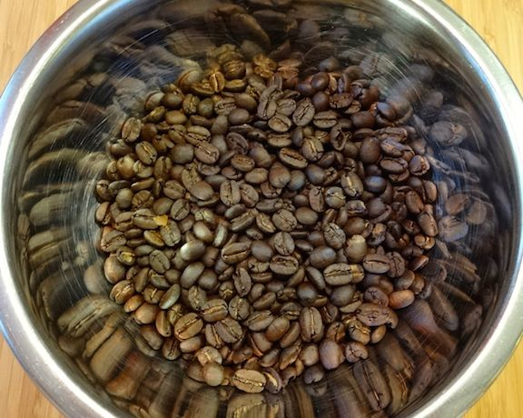 Freshly roasted coffee has an intoxicating aroma