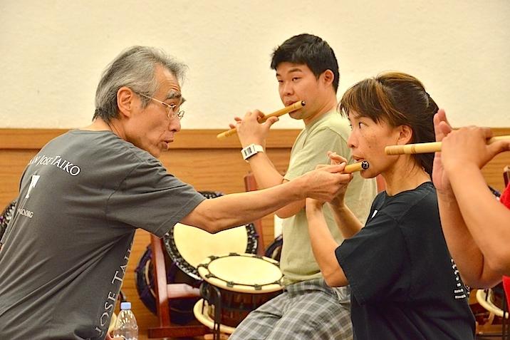 Eien Hunter-Ishikawa website Kyosuke Suzuki Asano Taiko US workshop fue