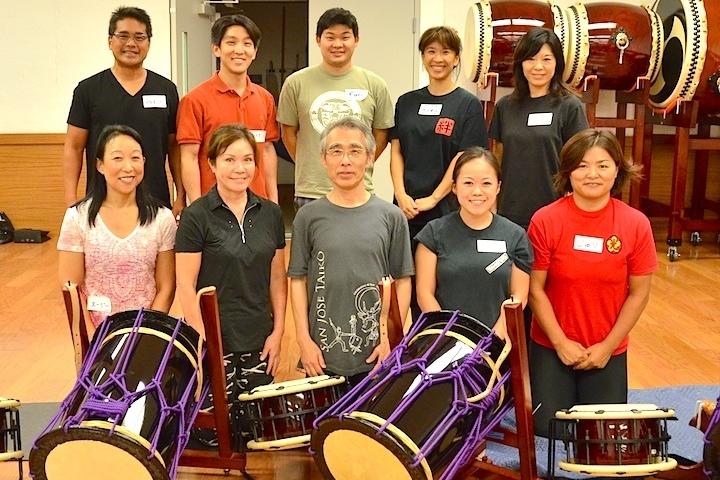 Eien Hunter-Ishikawa website Kyosuke Suzuki Asano Taiko US workshop taiko