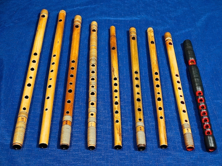 Ranjo flutes I'm currently using