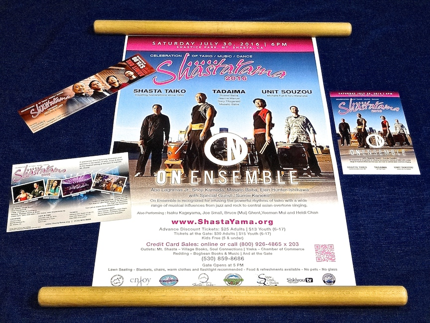 Eien Hunter-Ishikawa shastayama onensemble poster flyer ticket