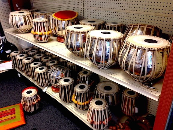 tabla at musician's mall
