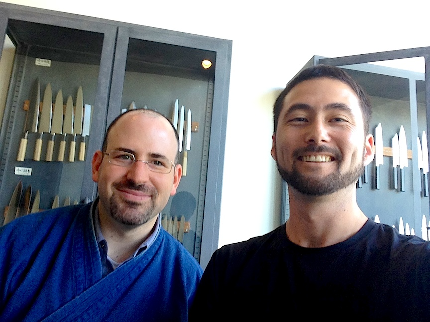 Jon Broida of Japanese Knife Imports in Beverly Hills