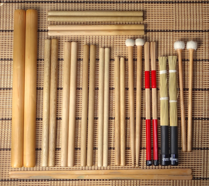 My most important taiko sticks