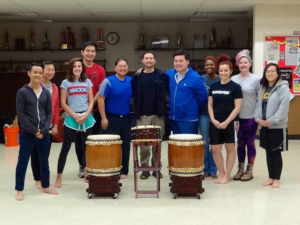 Ho Etsu Taiko in Chicago