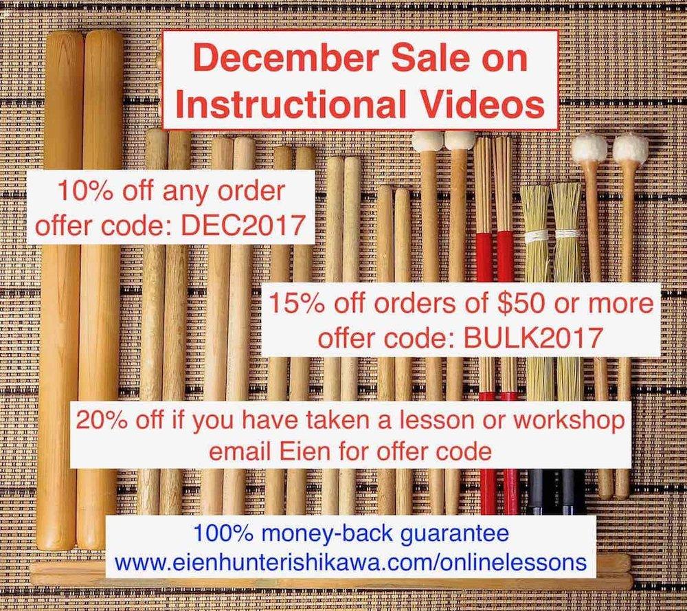 December Sale Videos 2016 copy.jpg
