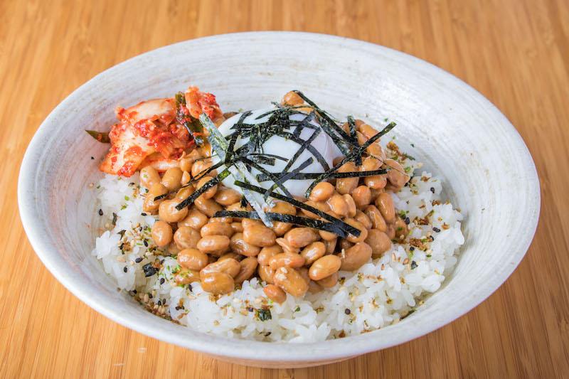 Natto donburi
