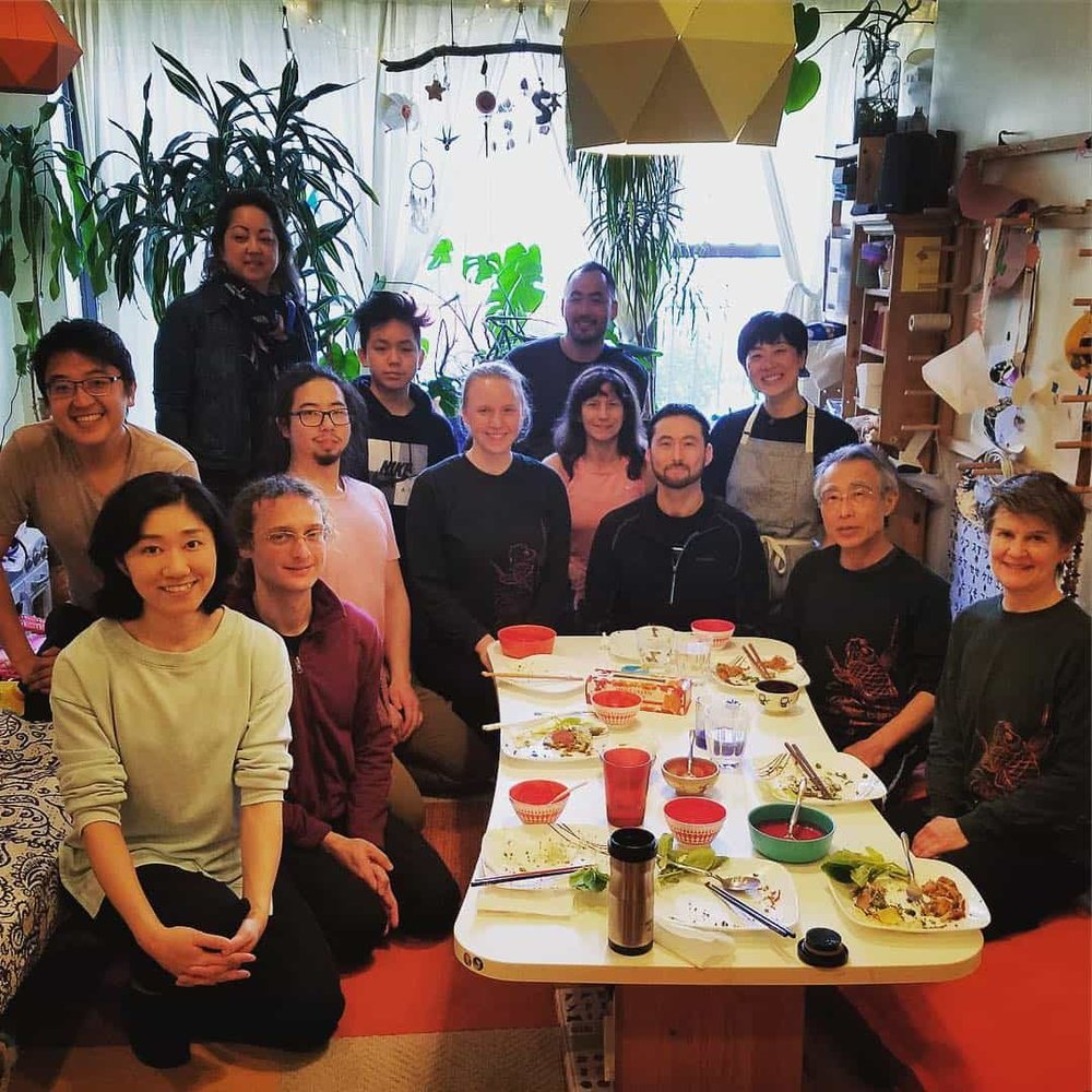 Suzuki sensei intensive at Kaoru Watanabe Taiko Center in Brooklyn