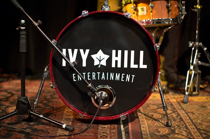 Ivy Hill Entertainment drum set.