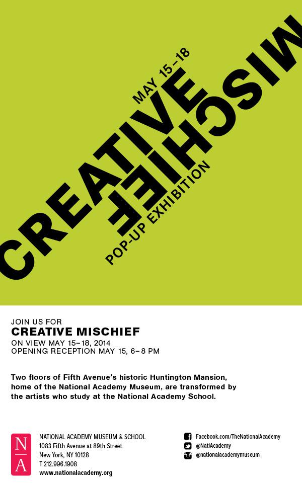 Creative Mischief 2014