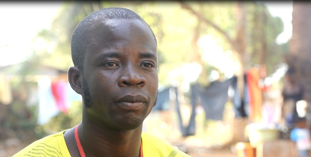 """I started [burying bodies] because we are helping the country…to fight this virus so it will be out of this country,"" said Jenkins Varney, who joined the Liberian Red Cross's safe and dignified burials team in September 2014. (Nurudeen Sanni/IFRC)"