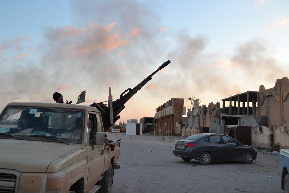 تسيطر قوات حفتر على حوالي 80 بالمائة من بنغازي