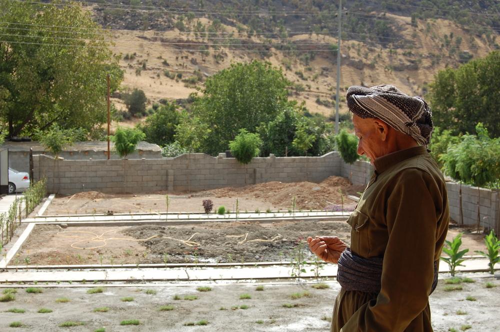 Le père de Sabah, Ibrahim, qui vit à Zargali depuis 73ans, est déterminé à y rester.