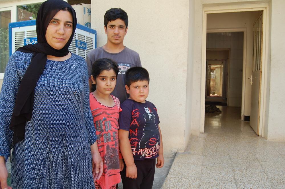 Depuis l'attaque, Um Bahram envisage de quitter la région avec sa famille.