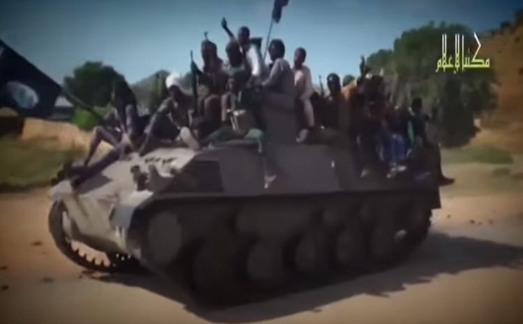 بوكو حرام تتقدم (يوتيوب، قناة صحارى)