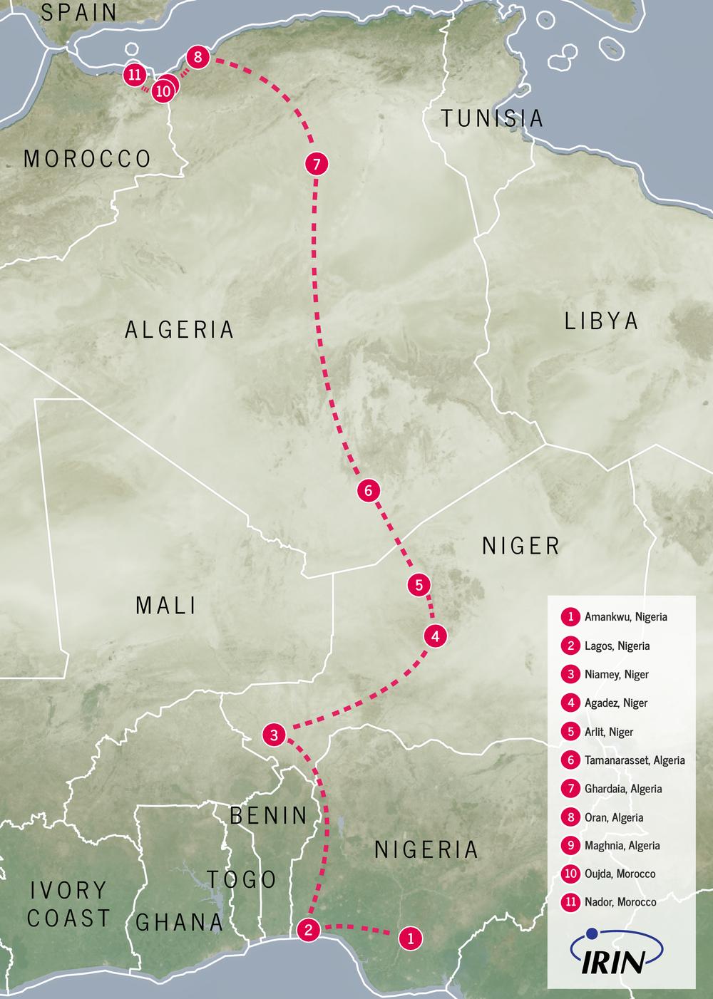 Le parcours de Lucky du Nigeria au Maroc