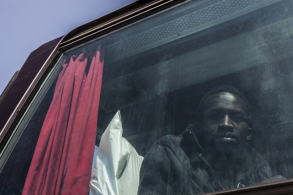 Mohammed Lamin's new European chapter (Jason Florio/MOAS.eu/IRIN)