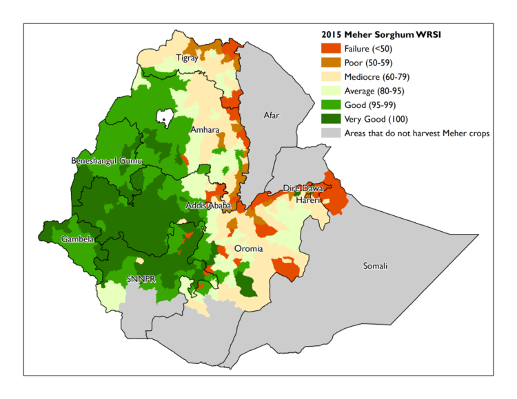 How bad is the drought in ethiopia irin usgs meher sorghum crop wrsig gumiabroncs Choice Image