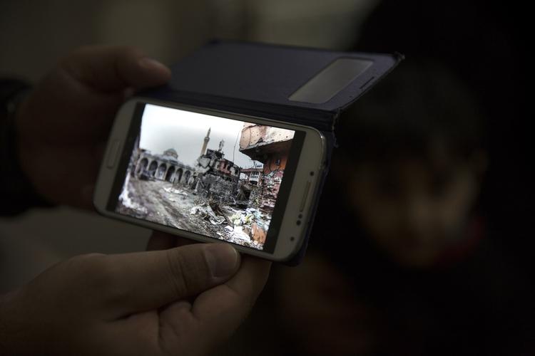 منزل أريك في سور الذي تحول إلى أنقاض الآن