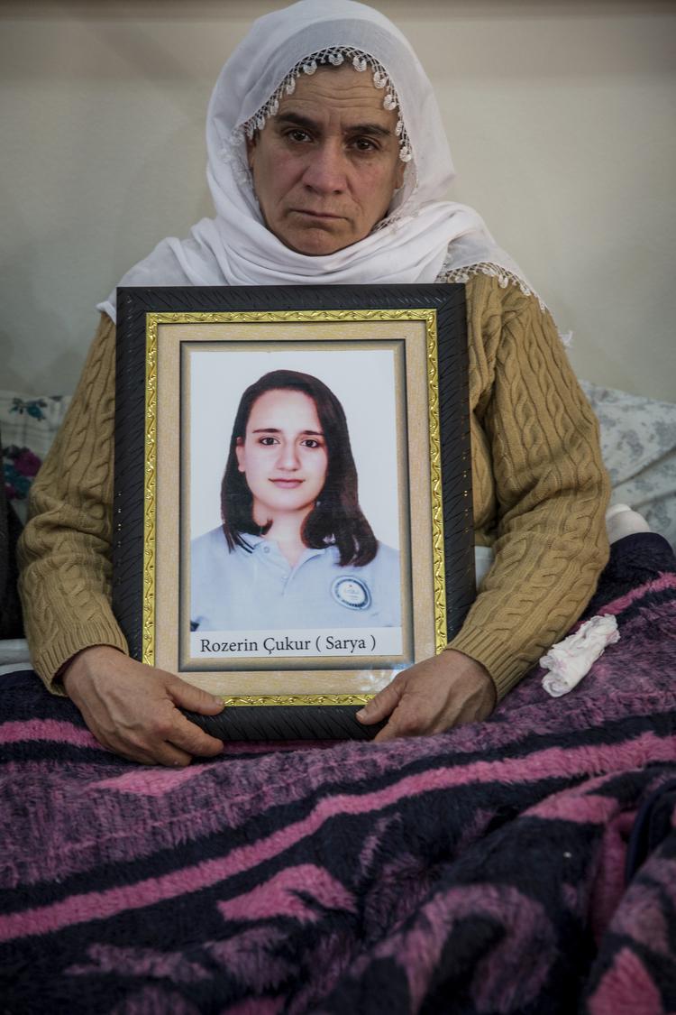 تعتقد فهرية شوكور أن جثمان ابنتها لا يزال في سور