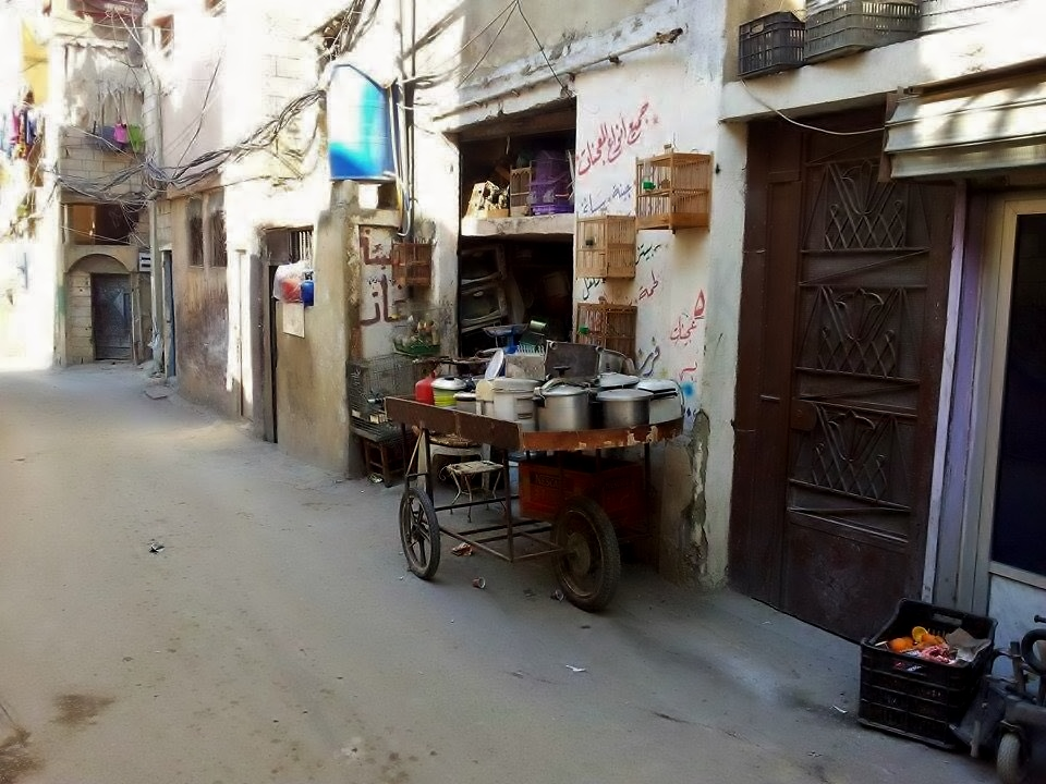 A small shop selling kitchenware