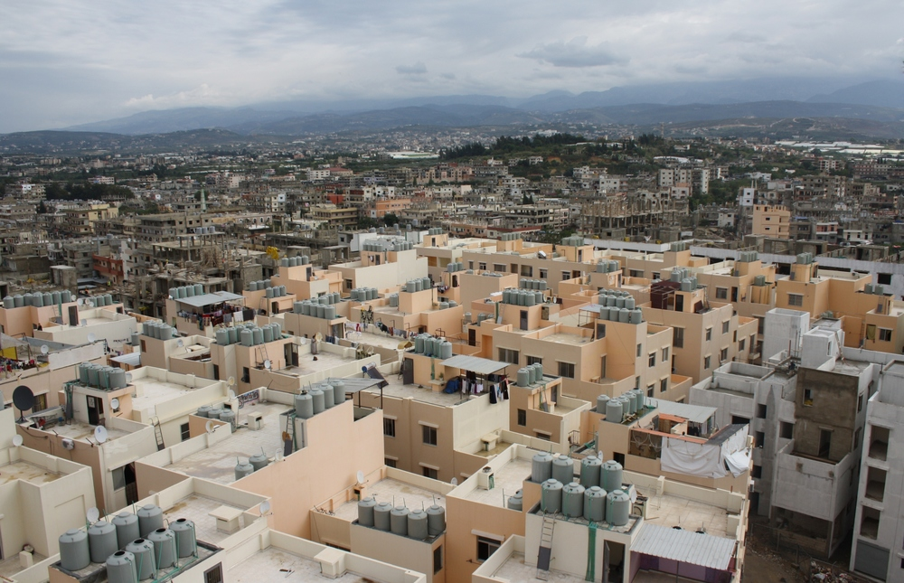 Only around half of Nahr al-Bared has been rebuilt (UNRWA/Archive)