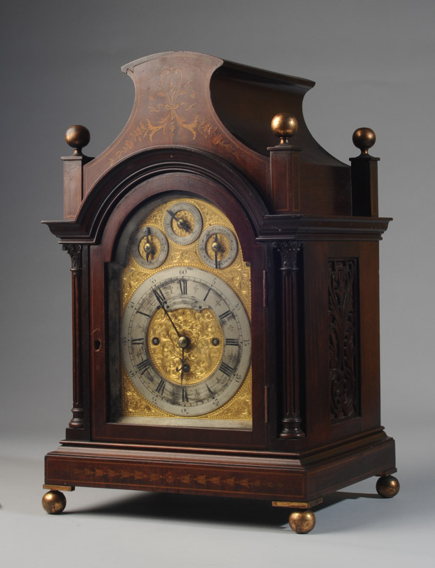 Theodore B. Starr Bracket Clock - Sold for $4,1304/7/2018