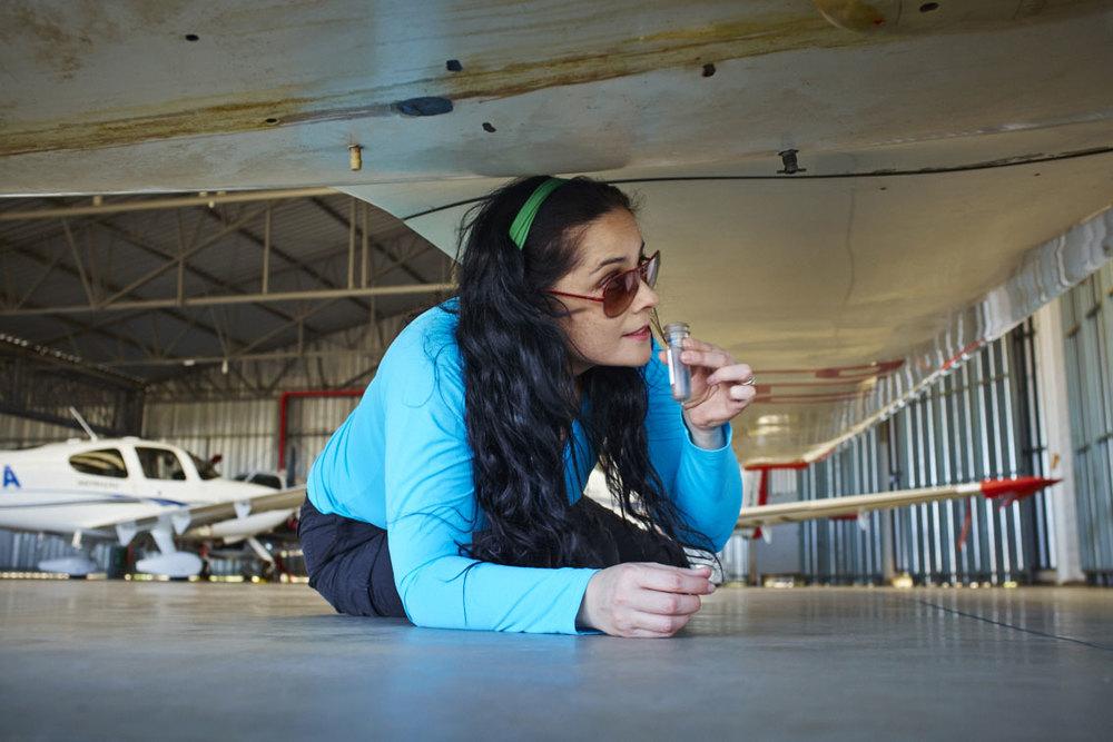 Isabela Raposeiras -  Airborne Magazine - TAM