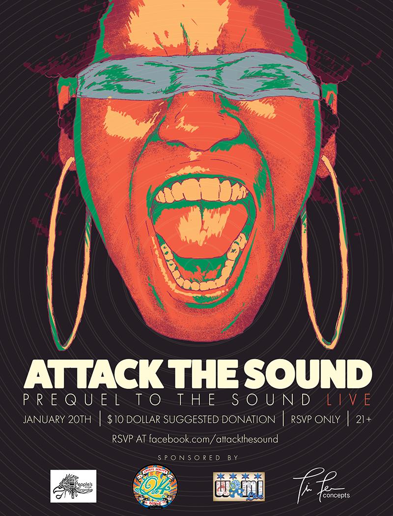 Attack the Sound Live