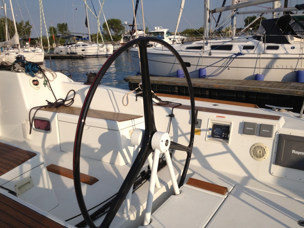 "64.5"" Wheel: Beneteau First 40"