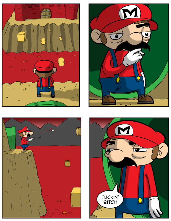 fuckyeanintendo: conflictgenesis: I feel for you, Mario.