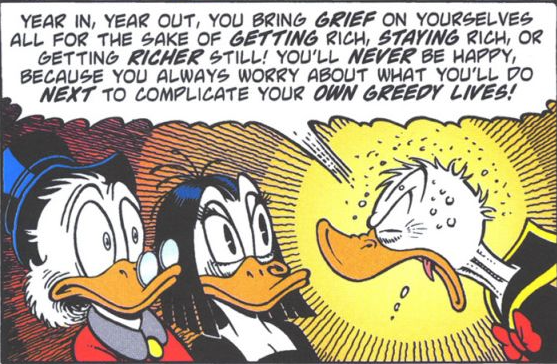 gravitazero :      phonkmeister :      yep        Don Rosa rules.