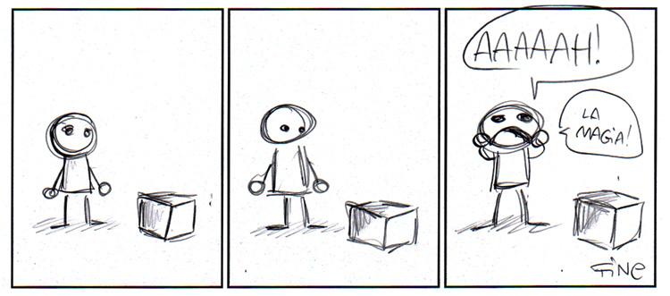 Sondaggio. Quanta magia invisibile può contenere una scatola?