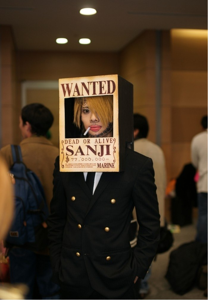 vaccamao :     Sanji cosplay