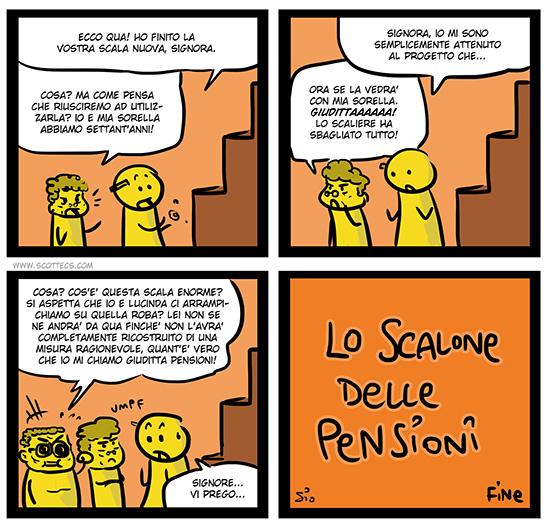 Scottecs Comics - Il Governo Monti e gli Incentivi ai Piccoli Lavoratori Autonomi http://bit.ly/siVLBx