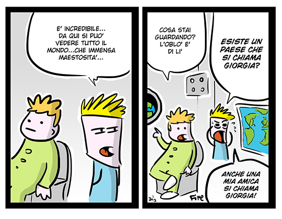 mizaralcor :     (via  Scottecs Comics» Blog Archive» Gli Astromagicnauts )     Sono così pigro che tumblero i miei fumetti solo quando sono già pronti da ribloggare.