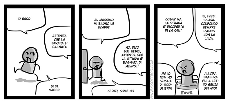 Scottecs Comics - Attento, idiota  http://bit.ly/v7rDsP