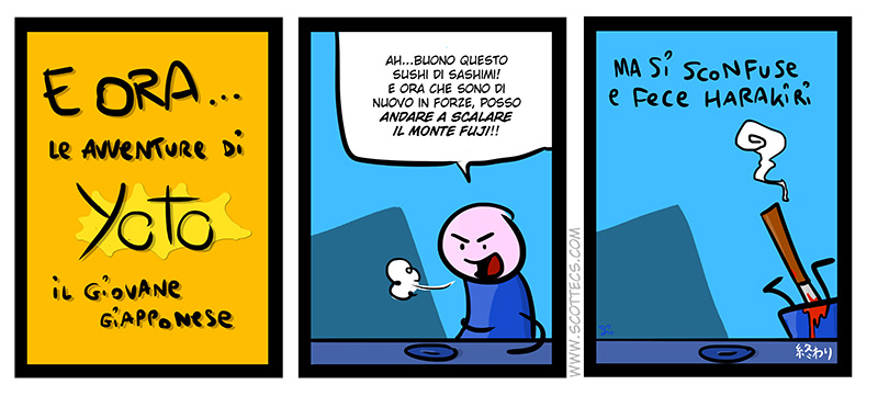 Scottecs Comics - Yoto il giovane giapponese  http://bit.ly/t1RLL2