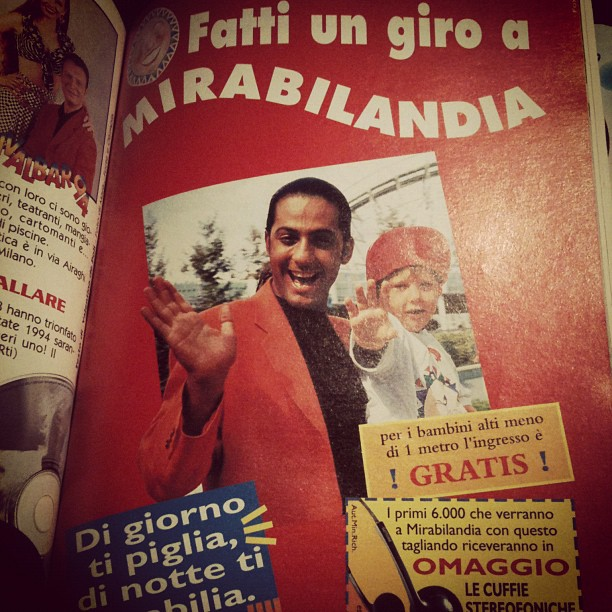 #fiorello #topolino #90s (Taken with  instagram )